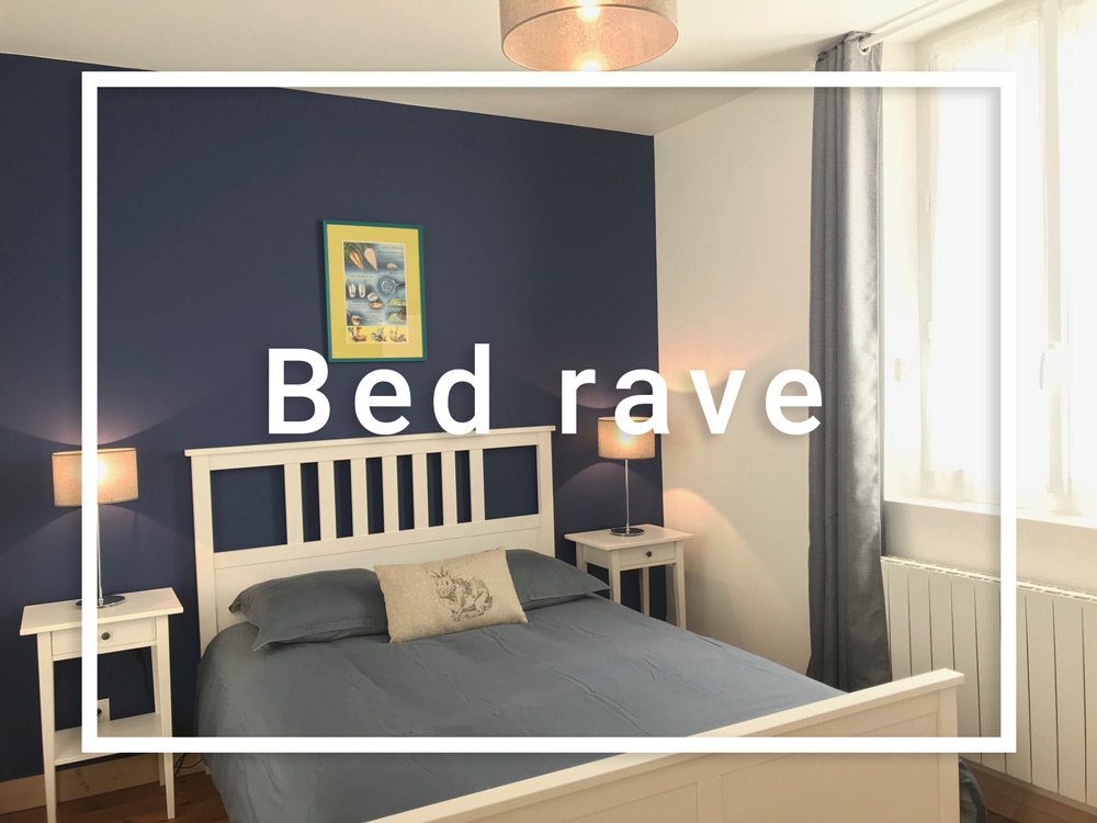 Chambre bed rave sucrerie B&B